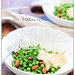warm pea & tahini salad
