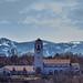 Depot + Mountains by Eric Fialkowski