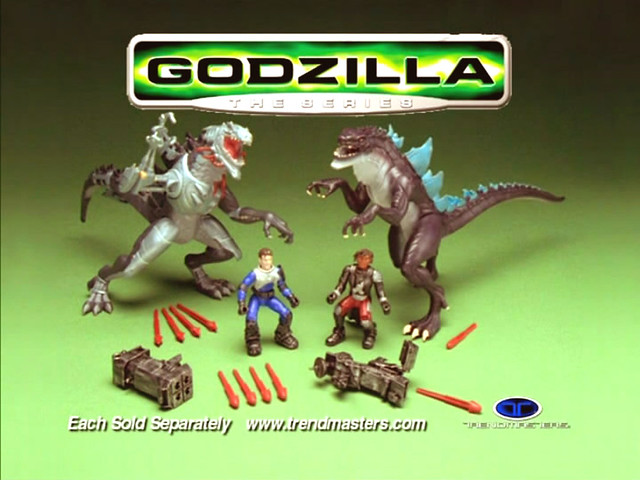 Godzilla The Series Toys 107