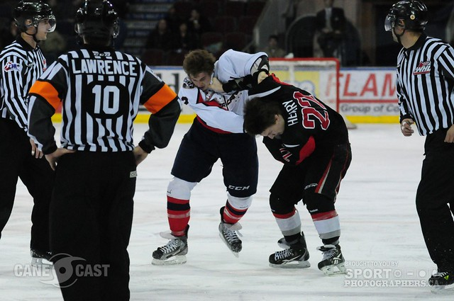 Lethbridge Hurricanes game photo