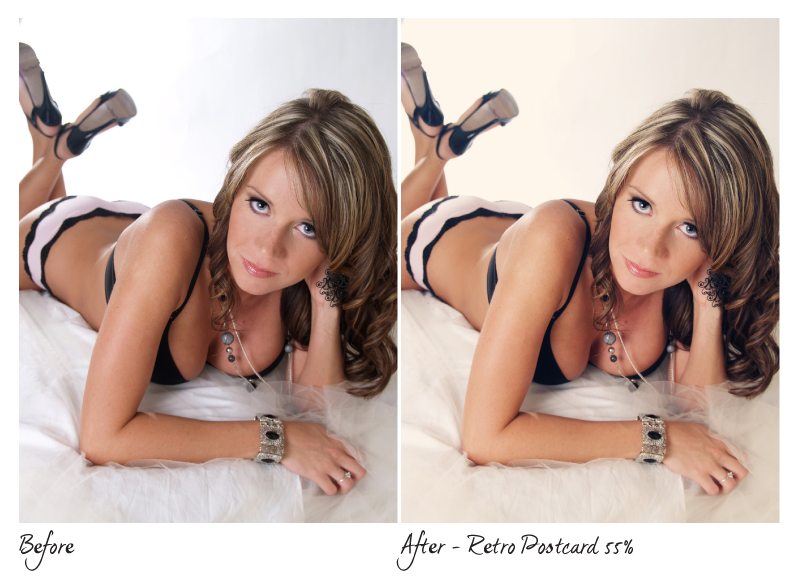 Boudoir Photography Photoshoot Actions