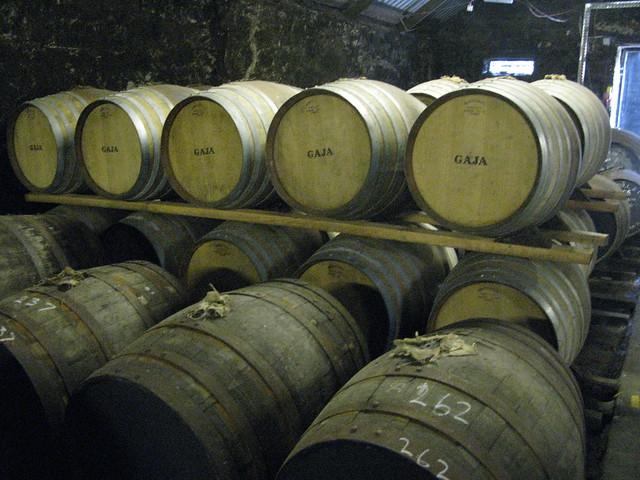 Springbank distillery - Gaja Barolo wine casks