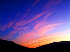 [フリー画像素材] 自然風景, 空, 朝焼け・夕焼け, 雲, 風景 - イタリア ID:201203171600