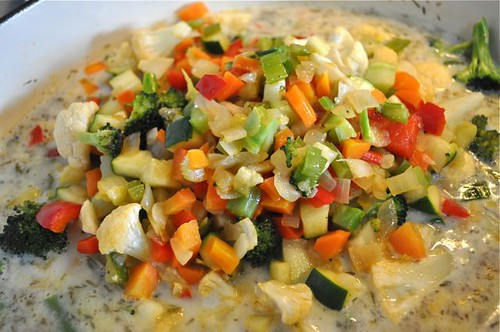 vegetable chowder with herbs 20