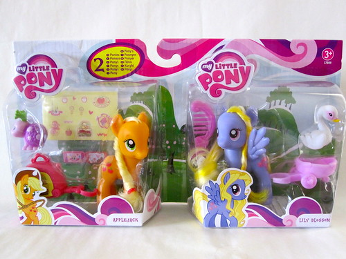 Special euro pack: Applejack and Lily Blossom!