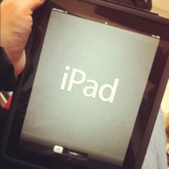初代iPadの記憶は消去されました…