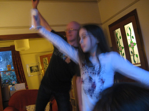 Richard and Livvy throw some good shapes