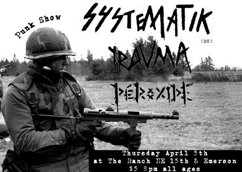 4/5/12 Systematik/Trauma/Peroxide