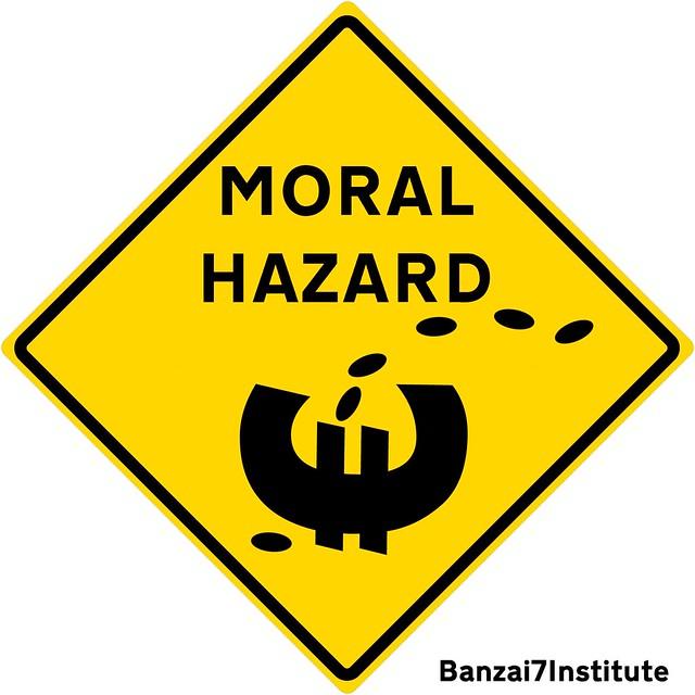 MORAL HAZARD SIGN
