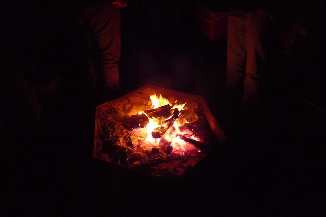 bonfire, laguna