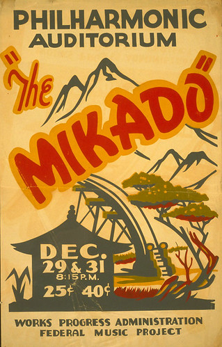 008-The Mikado  1936-1941-Library of Congres