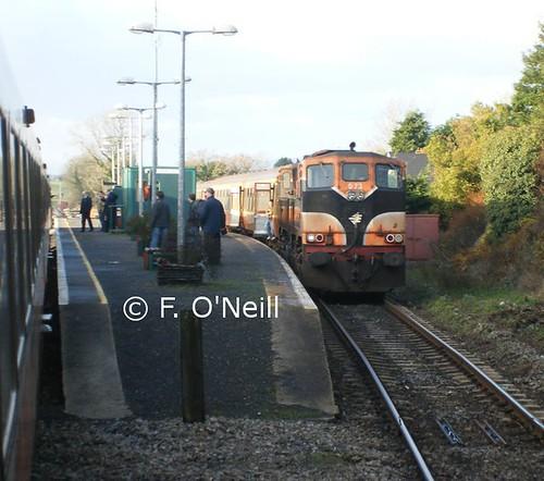 ireland irish orange train diesel rail railway trains mayo railways craven coaches 1516 carriages mkiii mk3 073 3173 1506 071class manullajunction finbarroneill internationalset finnyus