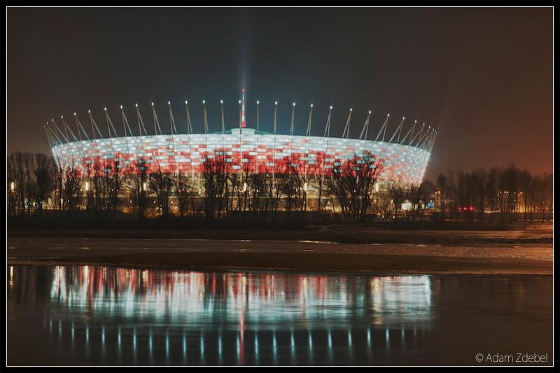 Stadion narodowy - EURO 2012