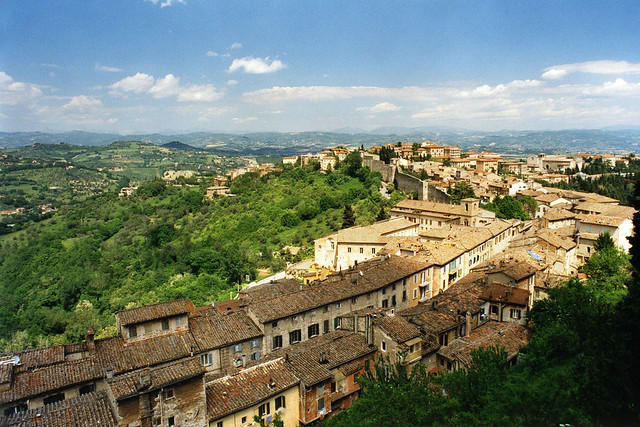 View from Perugia