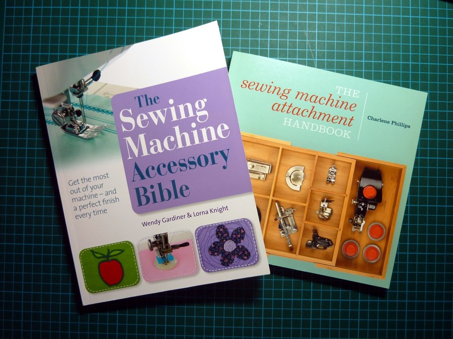 Books - Sewing Machine Attachments and Presser Feet