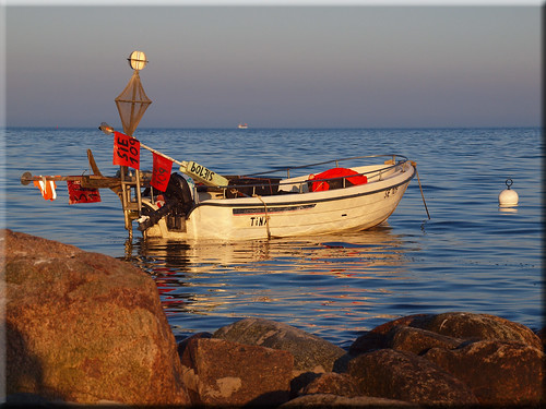 Fishing Boat in evening light