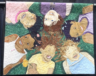 Friends: May Our Children Do Better Than We Did~ Quilt by Dr. Susan Walen