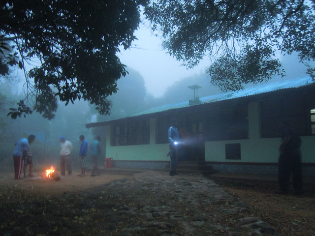 Brahmagiri_Trek_Forest_Rest_House_Morning