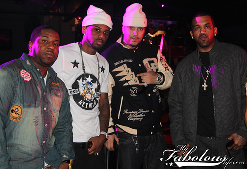 "Fabolous' ""She Did It"" Video Shoot"