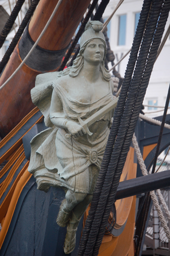 Surprise figurehead
