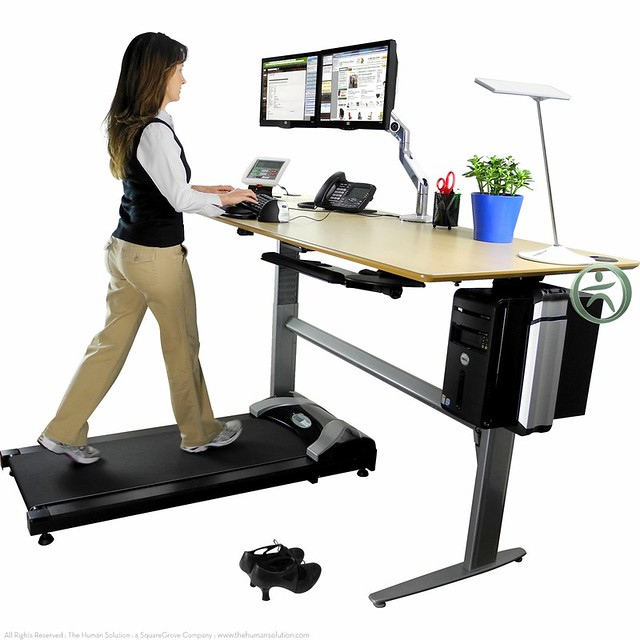 Uplift Treadmill Desk Flickr Photo Sharing