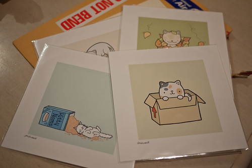 Cute cat prints