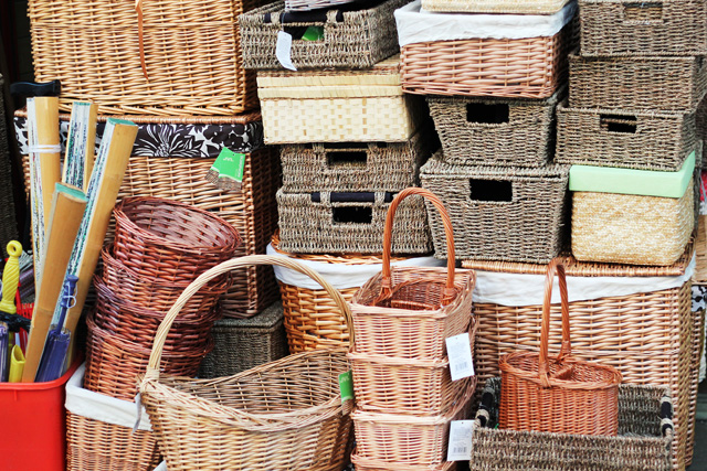 baskets portobello market