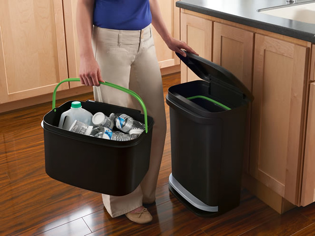 Rubbermaid, Recycling, Green, Simple Steps