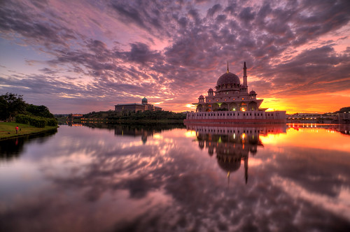 Sunrise at Masjid Putra