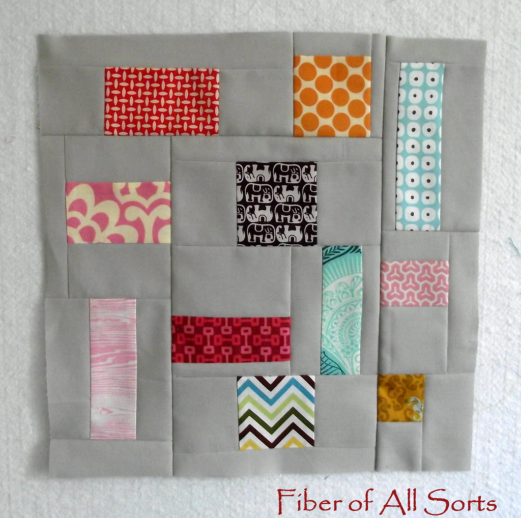 {Sew Bee It} - Block 1 - Feb 12