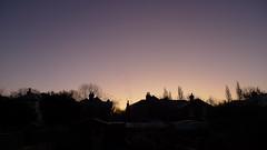 Morning Sky Over Winchester
