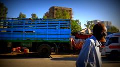 Blue lorry, red beard
