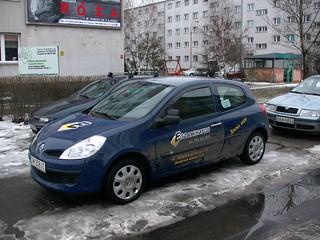 Nauka jazdy Wrocław Renault Clio