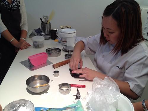 Sugar Inc's handbag cake class