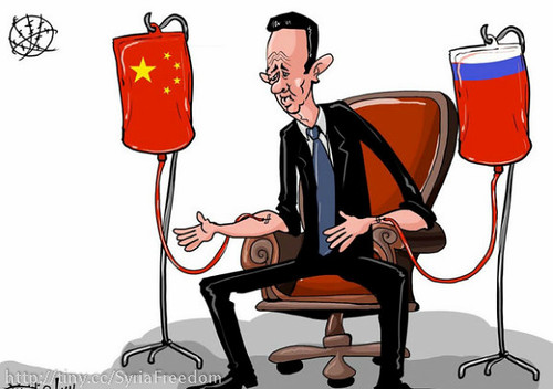 Assad's Regime and Life is Being Extended by Russia & China