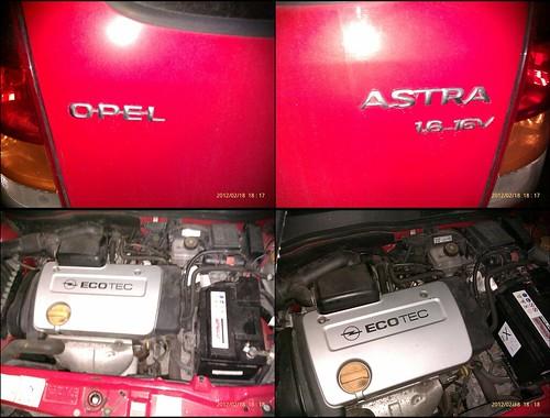 Opel Astra 1.6_16V Engine