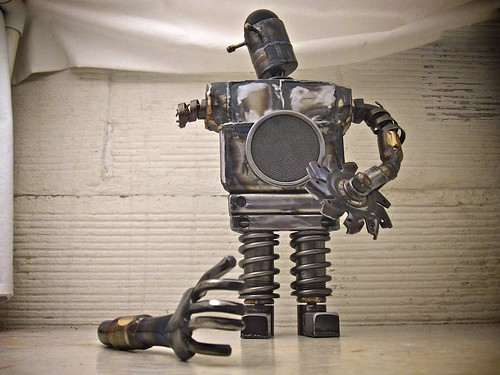 Malfunction Robot Sculpture