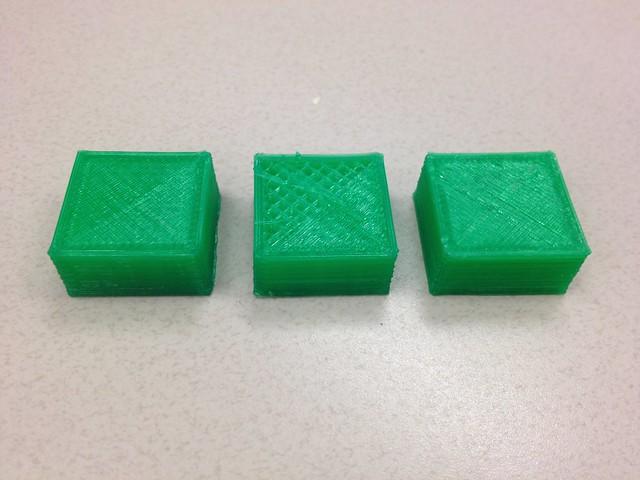 Calibration cubes