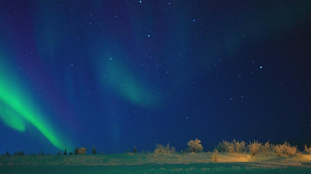 Timelapse: UAF Aurora Observatory