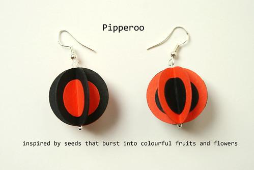 Paper Earrings - <span class=