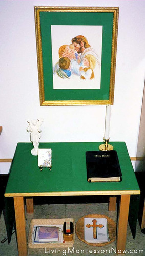 Catechesis of the Good Shepherd Prayer Table