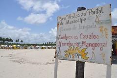 Pontal de Maracaípe, on es troben el riu i el mar