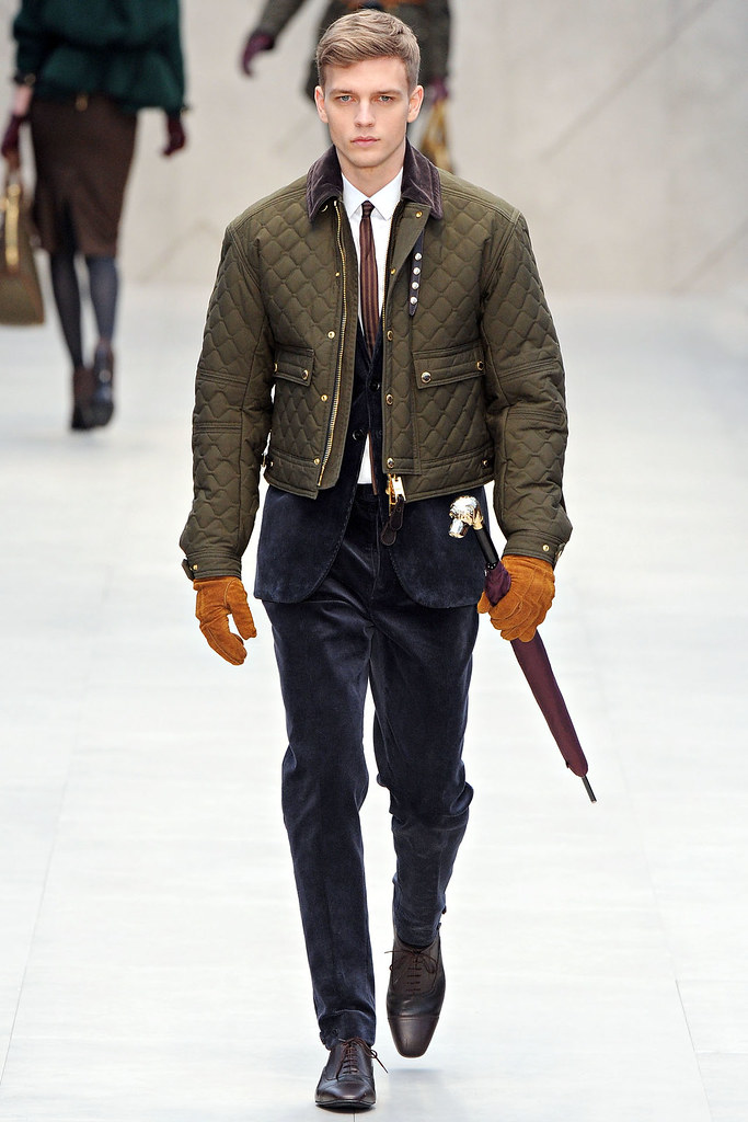 FW12 London Burberry Prorsum004_Benjamin Eidem(VOGUE)