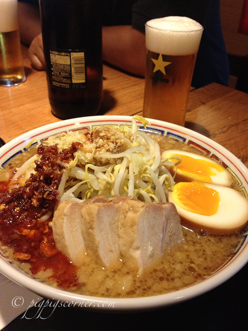 Ramen Champion Singapore T3 Changi spicy riki