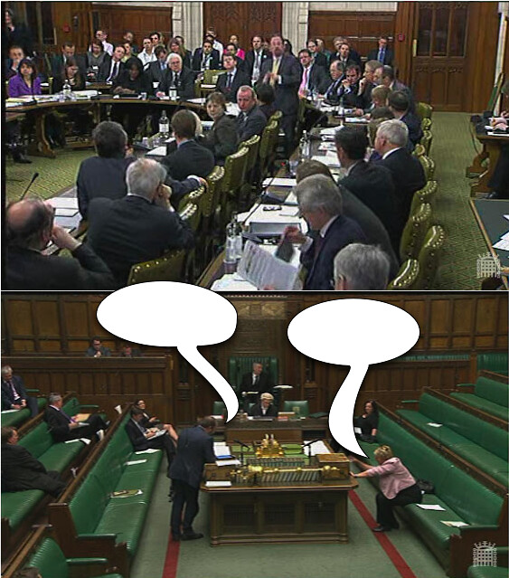 Friday Caption Contest: Parliamentary Debate Edition