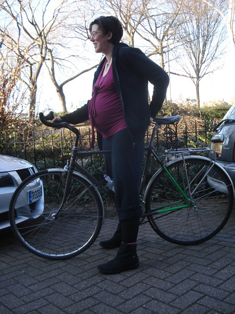 Still on the bike at 39 wks pregnant