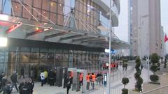 Ülker Sports Arena east entrance