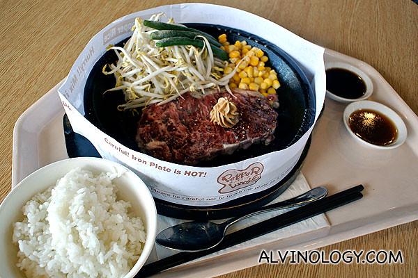 Pepper Lunch - Pepper Steak