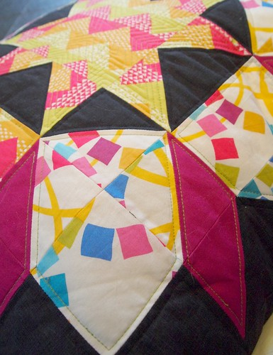 Ellen Luckett Baker's quilt blocks fabric