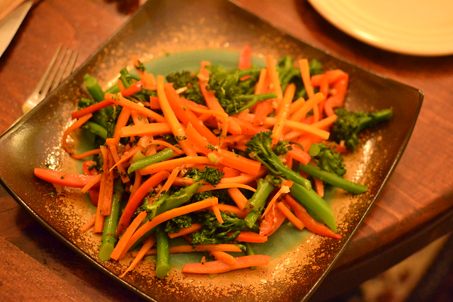 Broccolini Carrots Peppers